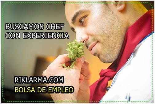 EMPLEO PARA CHEFF INTERNACIONAL EN COLOMBIA