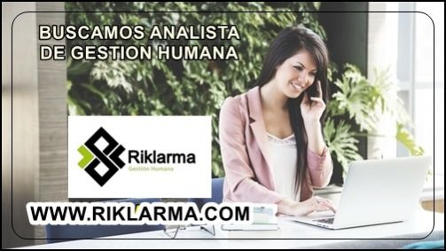 EMPLEO PARA ANALISTA DE GESTION HUMANA EN BARRANQUILLA