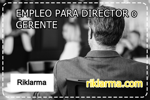 empleo para director de mercadeo
