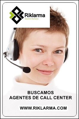 Buscamos Agentes de Call Center