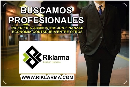Buscamos Profesionales