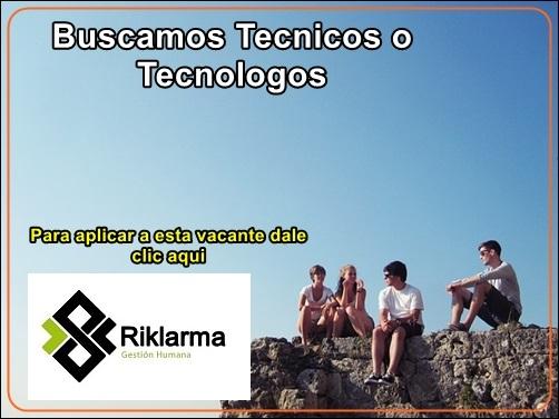 Buscamos-Tecnicos-o-Tecnologos