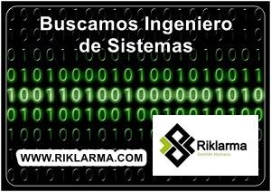vacante para ingeniero de sistemas