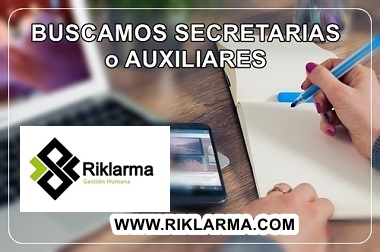 Vacante para Secretaria Medica