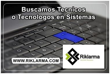 EMPLEO PARA TECNOLOGOS