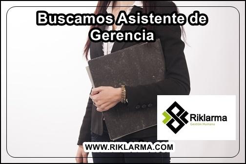 EMPLEO PARA SECRETARIA DE GERENCIA