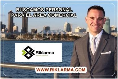 empleo para asesor comercial