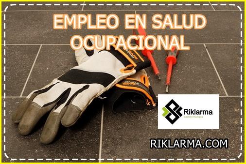EMPLEO PARA ANALISTA EN SALUD OCUPACIONAL EN COLOMBIA